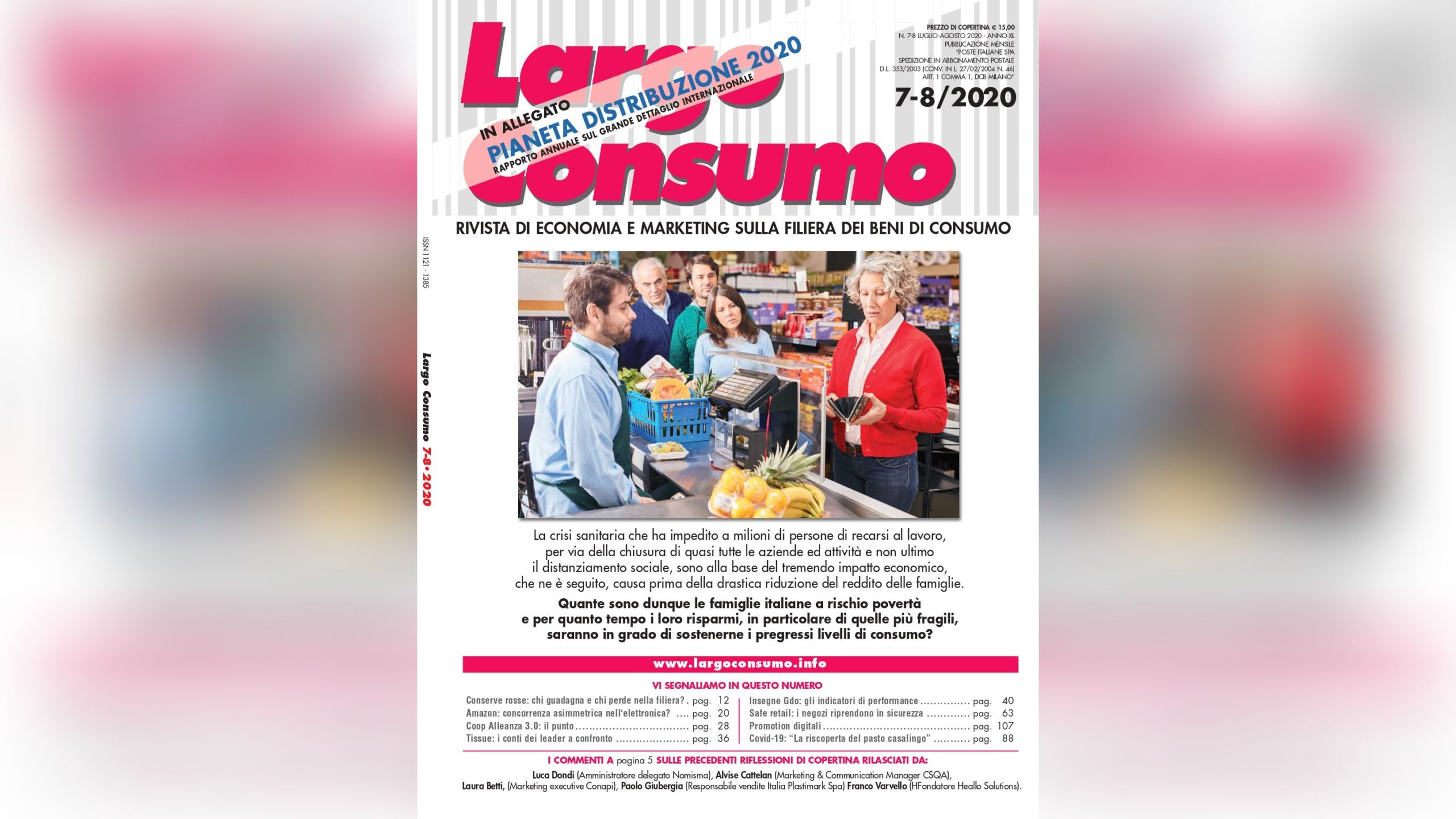 L'analisi liquori e distillati di Competitive Data sulla rivista Largo Consumo
